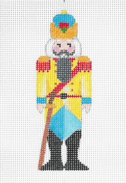 click here to view larger image of Mini Nutcracker B (hand painted canvases)