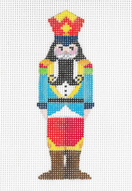 click here to view larger image of Mini Nutcracker D (hand painted canvases)
