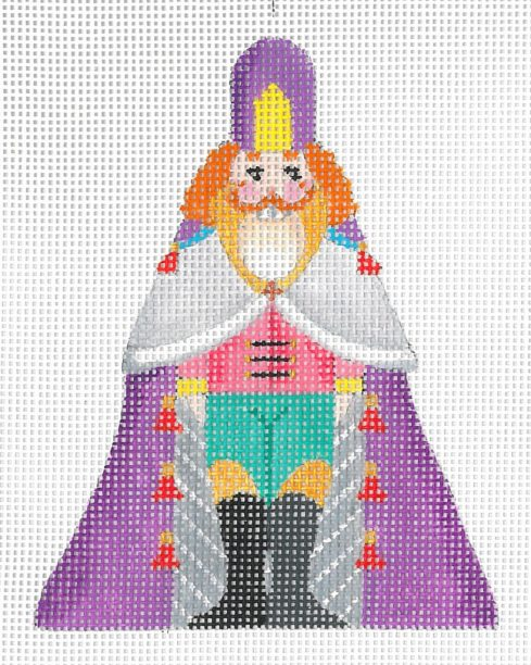 click here to view larger image of Mini Nutcracker E (hand painted canvases)