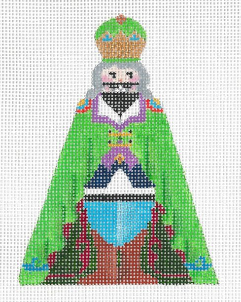 click here to view larger image of Mini Nutcracker G (hand painted canvases)