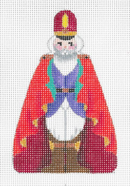 click here to view larger image of Mini Nutcracker H (hand painted canvases)