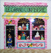 click here to view larger image of La Grand Confiserie (hand painted canvases)