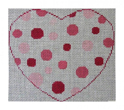 click here to view larger image of My Big Fat Heart (hand painted canvases)