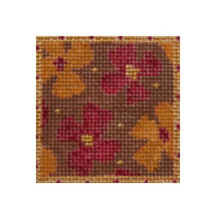 click here to view larger image of Moroccan Flowers Mini (hand painted canvases)