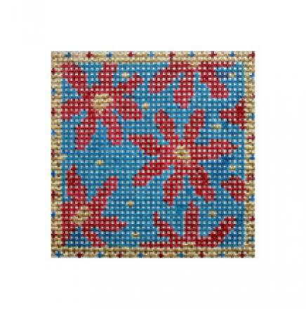 click here to view larger image of Patriotic Flowers Mini (hand painted canvases)