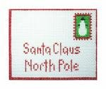 click here to view larger image of Note to Santa (hand painted canvases)
