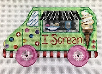 click here to view larger image of Food Trucks I Scream (hand painted canvases)