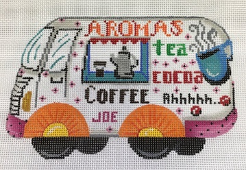 click here to view larger image of Food Trucks Aromas Coffee (hand painted canvases)