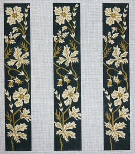 click here to view larger image of Lace Flowers (hand painted canvases)