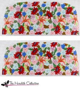click here to view larger image of Spring Bouquet (hand painted canvases)