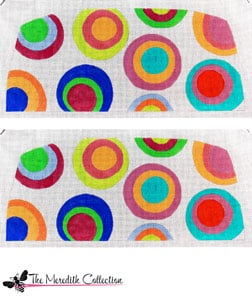 click here to view larger image of Dotty (hand painted canvases)