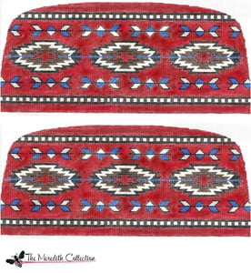 click here to view larger image of Indian Rug (hand painted canvases)