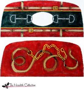 click here to view larger image of Lead Line and Bits (hand painted canvases)