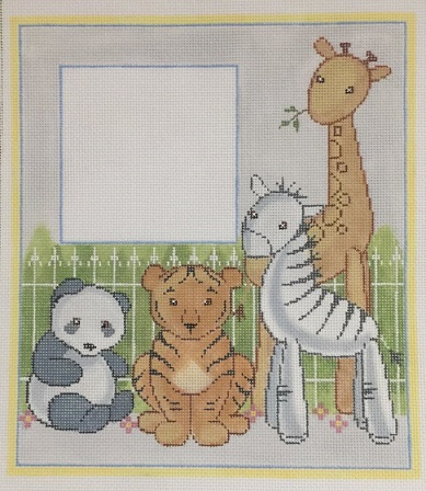 click here to view larger image of Lucy & Leo's Friends Picture Frame (hand painted canvases)