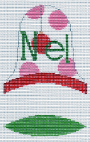 click here to view larger image of Dimensional Bell Noel (hand painted canvases)