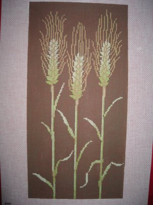 click here to view larger image of Corn Stalks (hand painted canvases)