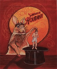 click here to view larger image of Hare-e-Houdini (hand painted canvases)