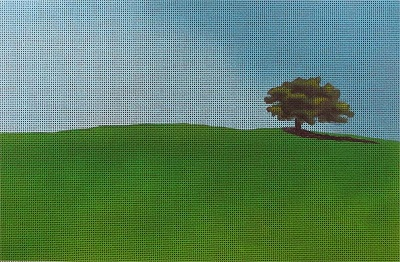 click here to view larger image of Tree and Sky (hand painted canvases)