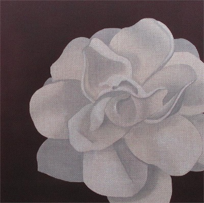 click here to view larger image of Camellia (hand painted canvases)