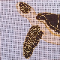 click here to view larger image of Coastal Turtle (hand painted canvases)