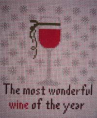 click here to view larger image of The most wonderful Time of the Year (hand painted canvases)