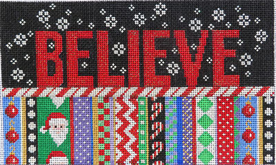 click here to view larger image of Believe (hand painted canvases)