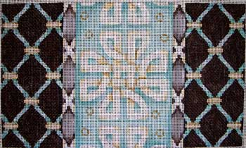 click here to view larger image of Claremont Cross Rectangle (hand painted canvases)
