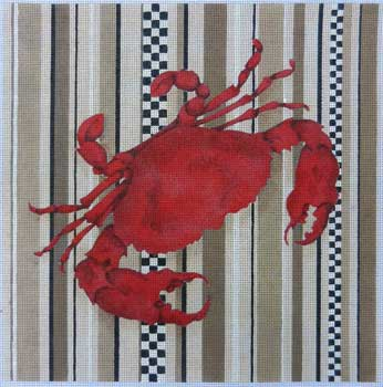 click here to view larger image of Big Crab (hand painted canvases)