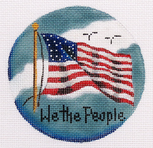 We the People hand painted canvases