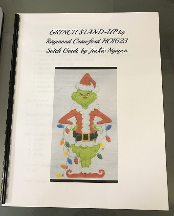 click here to view larger image of Grinch Stand-Up Stitch Guide  (books)