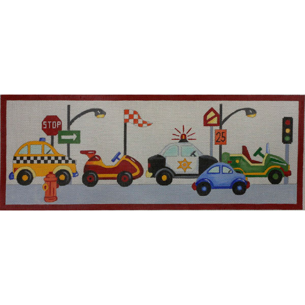 click here to view larger image of Cars For Boys (hand painted canvases)