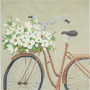 click here to view larger image of Old Fashioned Bike (hand painted canvases)