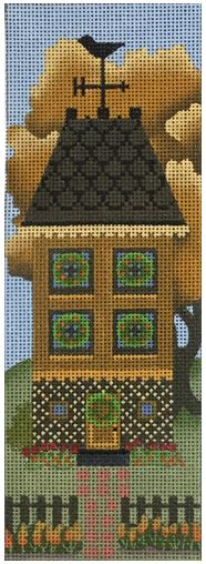 click here to view larger image of Ochre Autumn House (hand painted canvases)