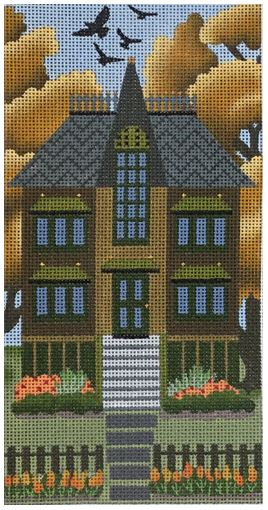 click here to view larger image of Olive Autumn House (hand painted canvases)
