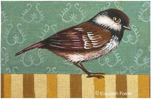 click here to view larger image of Sparrow (hand painted canvases)