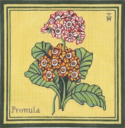 click here to view larger image of Primula (hand painted canvases)