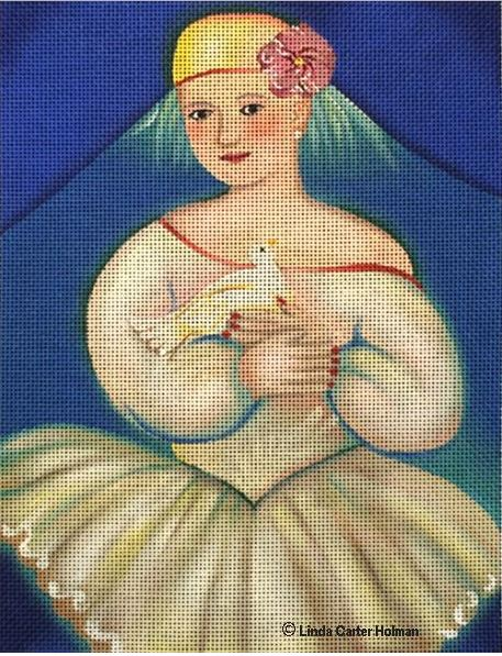 click here to view larger image of Little Dancer (hand painted canvases)