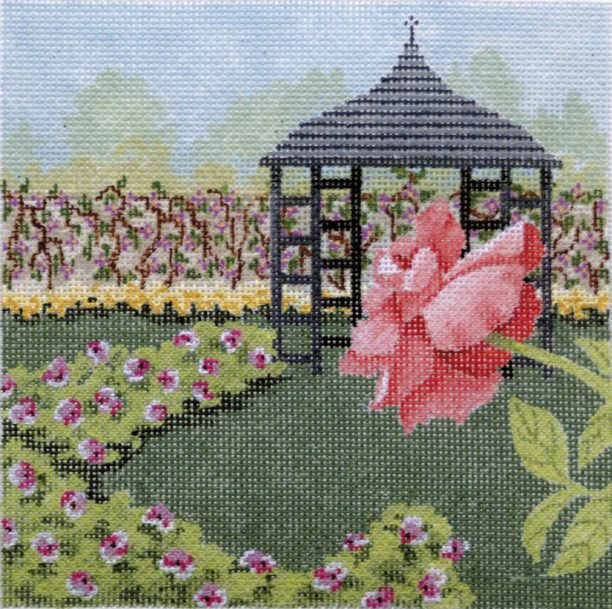 click here to view larger image of Rose Garden 1 (hand painted canvases)