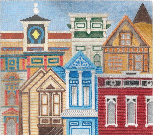 click here to view larger image of Painted Ladies 2 (hand painted canvases)
