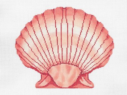 click here to view larger image of Seashell 2 (hand painted canvases)