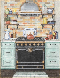 click here to view larger image of Chef Station (hand painted canvases)
