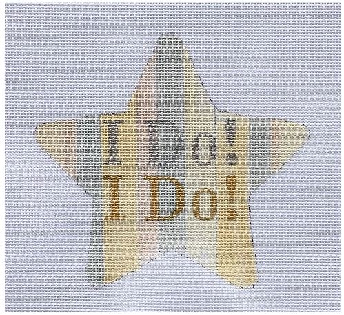click here to view larger image of I Do, I D0 (hand painted canvases)