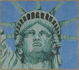 click here to view larger image of Liberty - 13 Count (hand painted canvases)