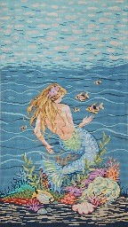 click here to view larger image of Mermaid B (hand painted canvases)
