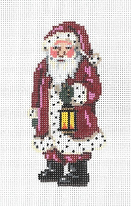 click here to view larger image of Mini Claus (hand painted canvases)