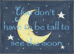 click here to view larger image of Moon (hand painted canvases)