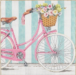 click here to view larger image of Ride - 14 Count (hand painted canvases)