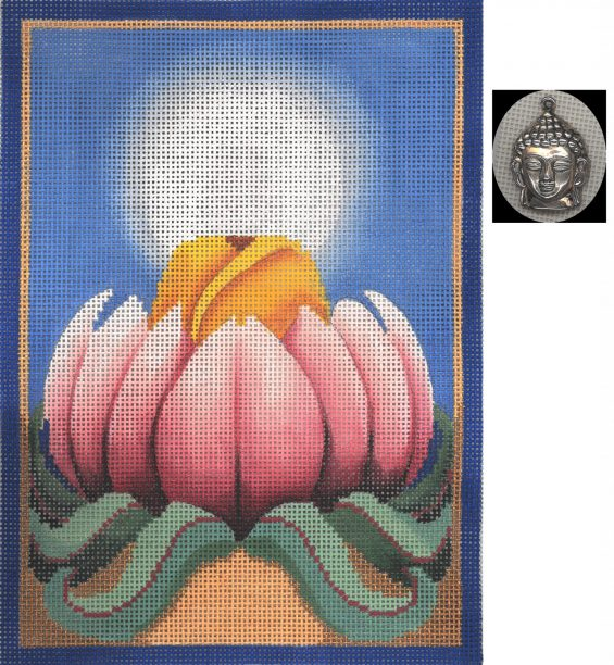 click here to view larger image of Buddha (hand painted canvases)