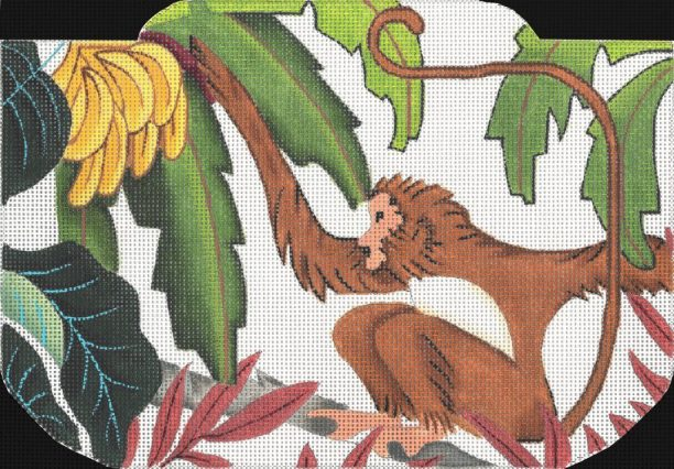 click here to view larger image of Monkey Purse (hand painted canvases)
