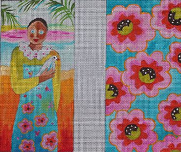 click here to view larger image of Island Woman (hand painted canvases)